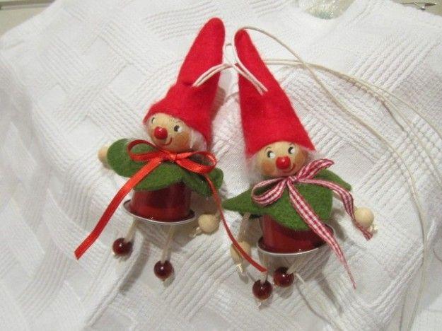 Lavoretti Di Natale Con Cialde Nespresso.Decorazioni Natalizie Con Cialde Nespresso Cerca Con