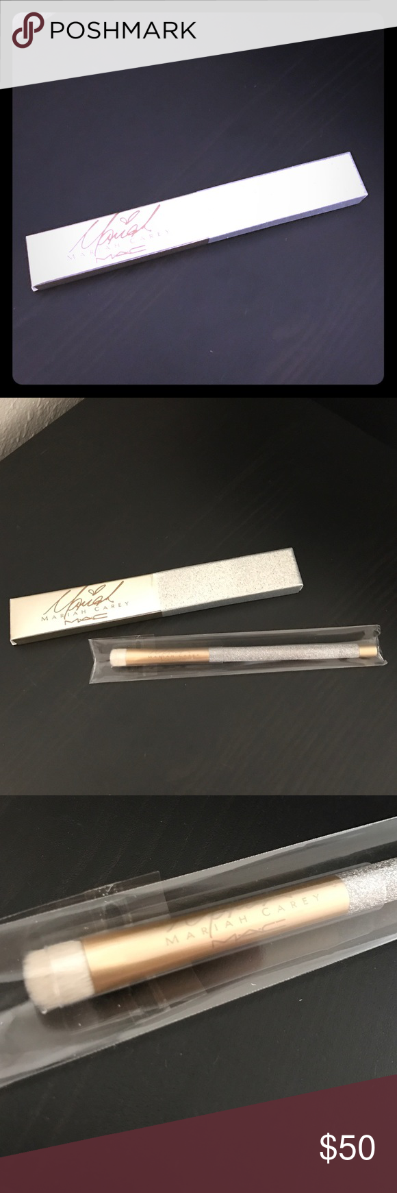 Flashsale mac x mariah eye shader brush nwt my posh picks