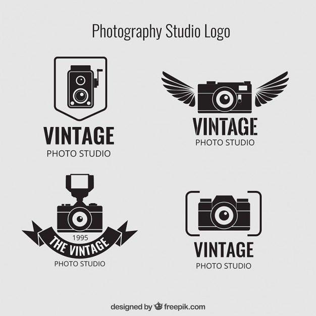 3b0c0ac67 Photographie vintage logos de studio
