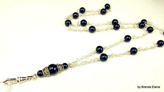 LanyardSimply Elegant Pearls-You choose the by byBrendaElaine
