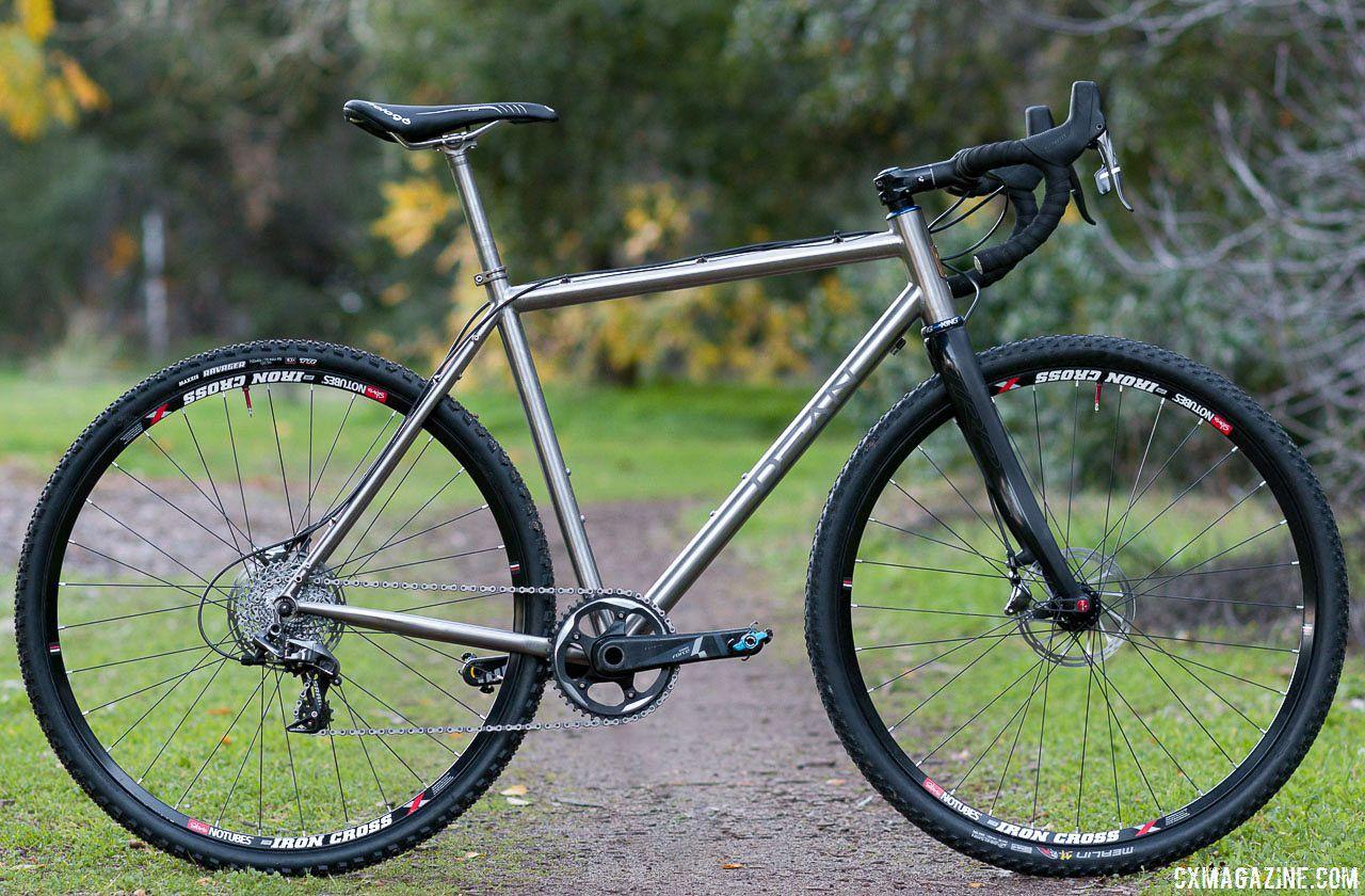 Dean Antero Titanium Cyclocross Frame Brings Titanium To Your Garage For Just 1250 C Cyclocross Magazine Cyclocross Cyclocross Bike Bike