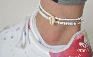 CLOUDY DAY ANKLET