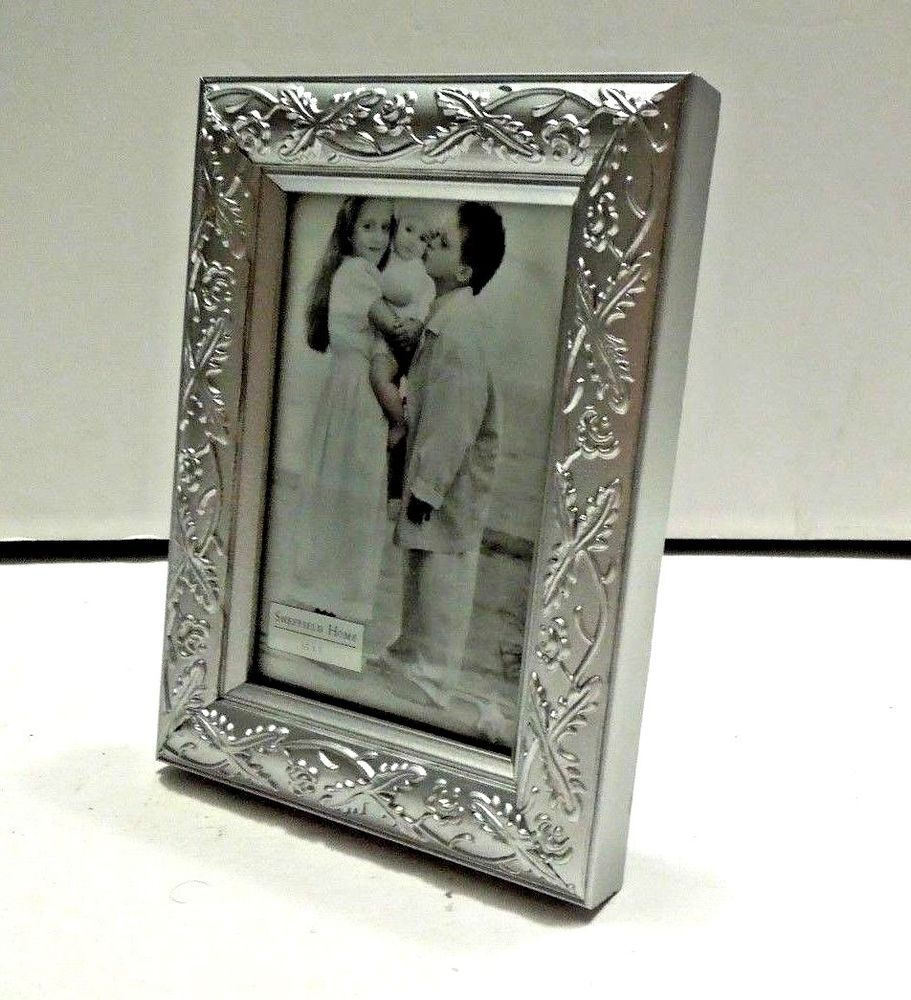 Sheffield Home 35 X 5 Silver Wood Picture Frame Sheffieldhome