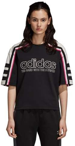 1aa0ce708a82 Adidas Originals adidas Originals Racing AA-43 Cropped Boxy T-Shirt -  Women s