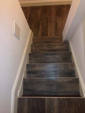 Client Private Residence In Central London Brief To Supply Install Amtico To Stairs And Rooms Amtico Stairs Central London