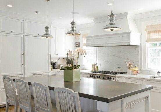 gray quartz island countertop white kitchen design kitchen remodel neutral kitchen designs on kitchen island ideas white quartz id=50765