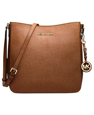 96b171bc8fc7 My Mothers Day Gift? In Fuschia... Please.....MICHAEL Michael Kors Jet Set  Travel Large Saffiano Messenger Bag