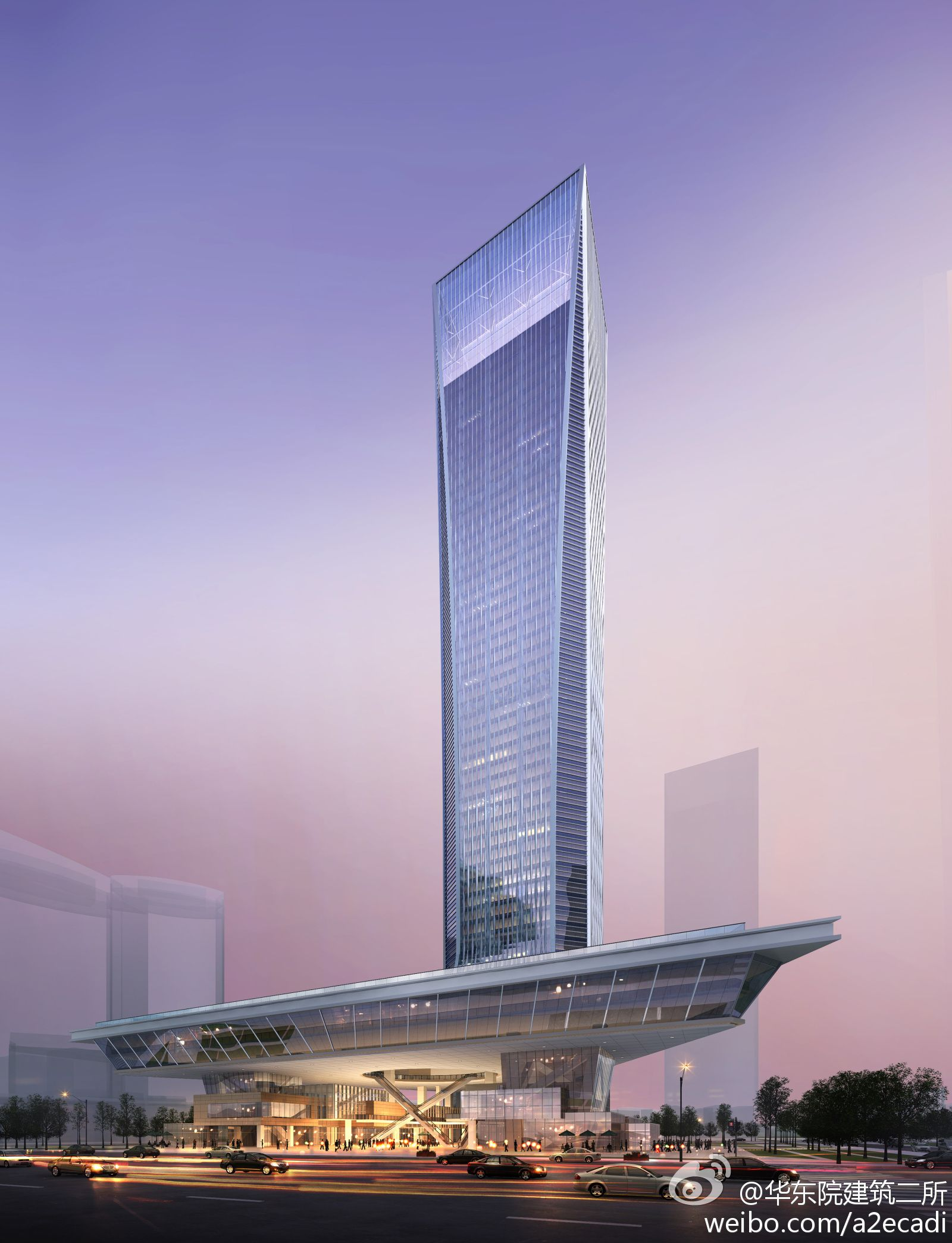 SHANGHAI   SK Group Tower   270m   52 fl   Skyscrapers on Drawing ...