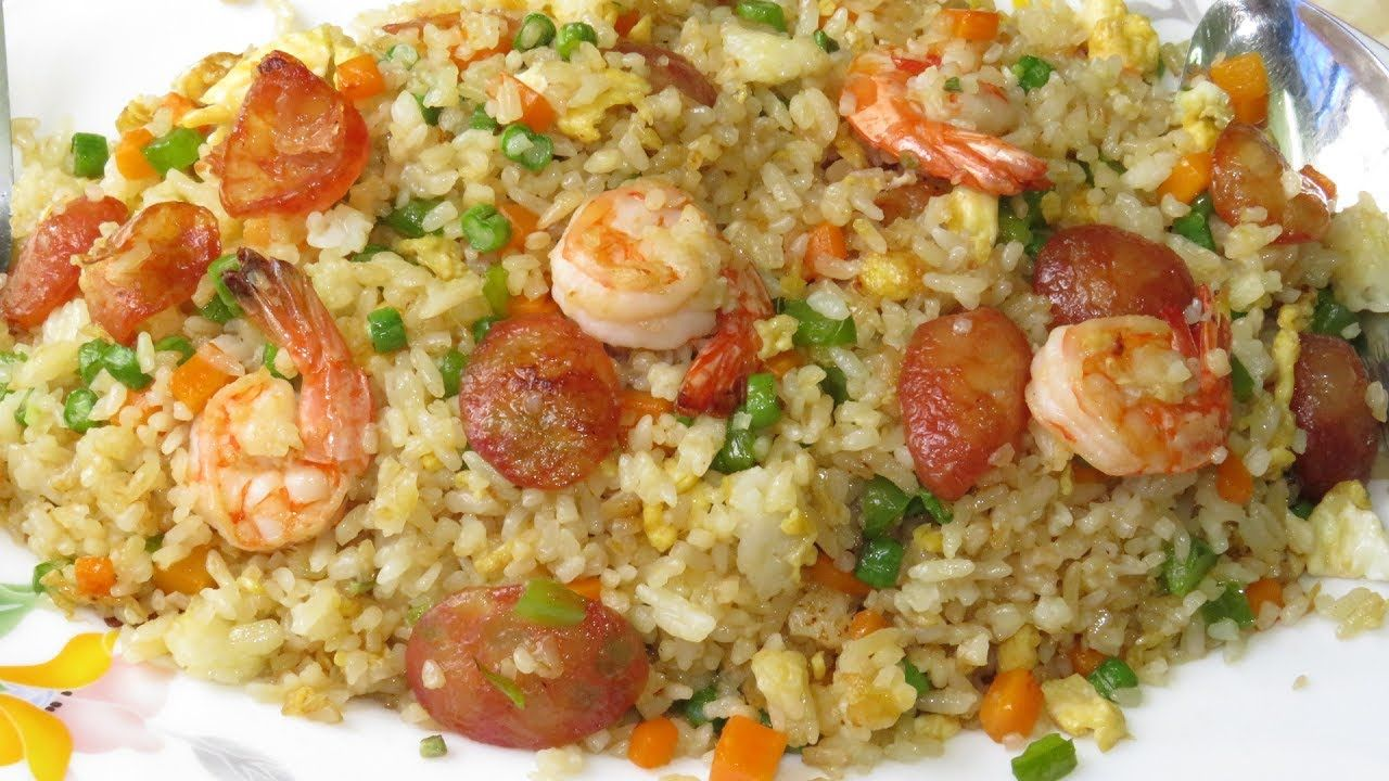 Httpbedandbreakfast dealsseafoodshrimpfried rice with fried rice with shrimp recipe how to make fried rice asian food cooking ccuart Image collections