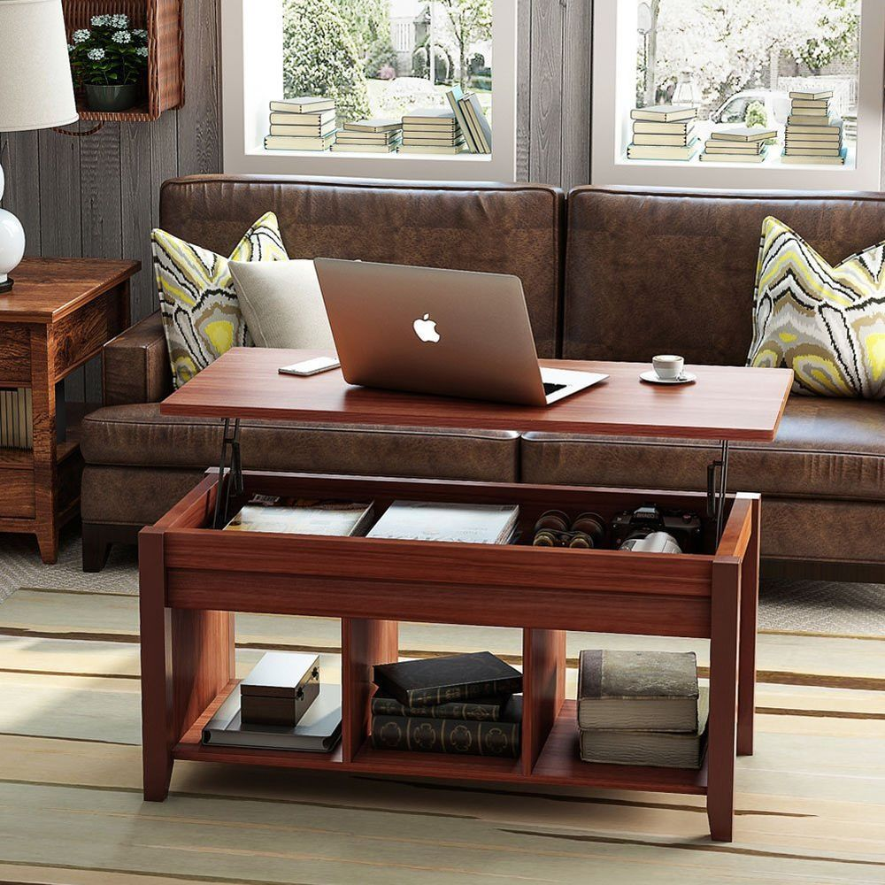 Tribesigns coffee table with lift top with storage living room modern furniture 113 99 end date monday nov 26 2018 202228 pst buy it