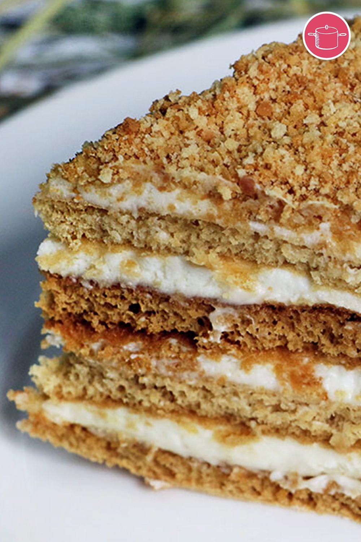 حلى طبقات البسكويت بالكريمة Recipe In 2021 Desserts Food Cake