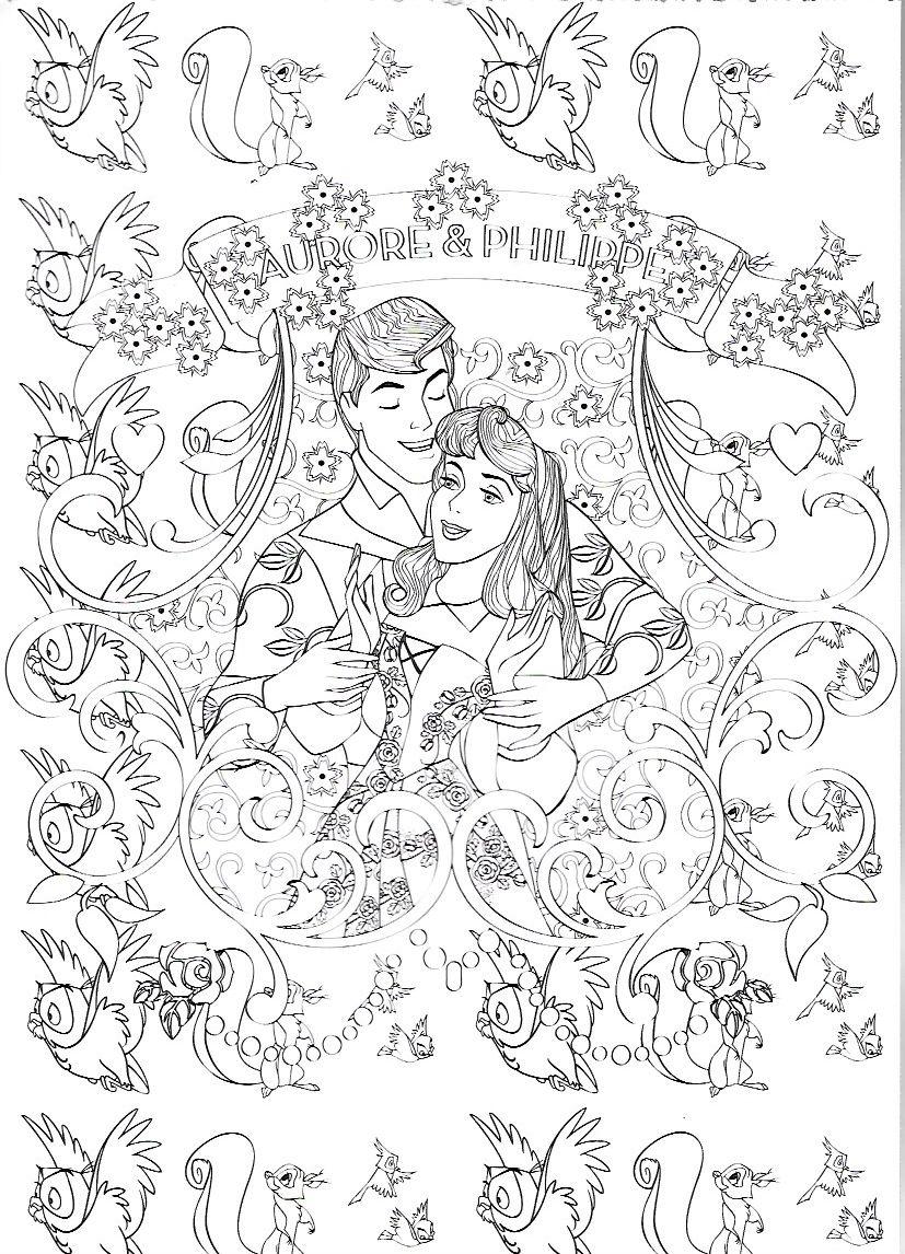 Pin von Elizabeth McGehee auf Disney Sleeping Beauty Coloring Pages ...