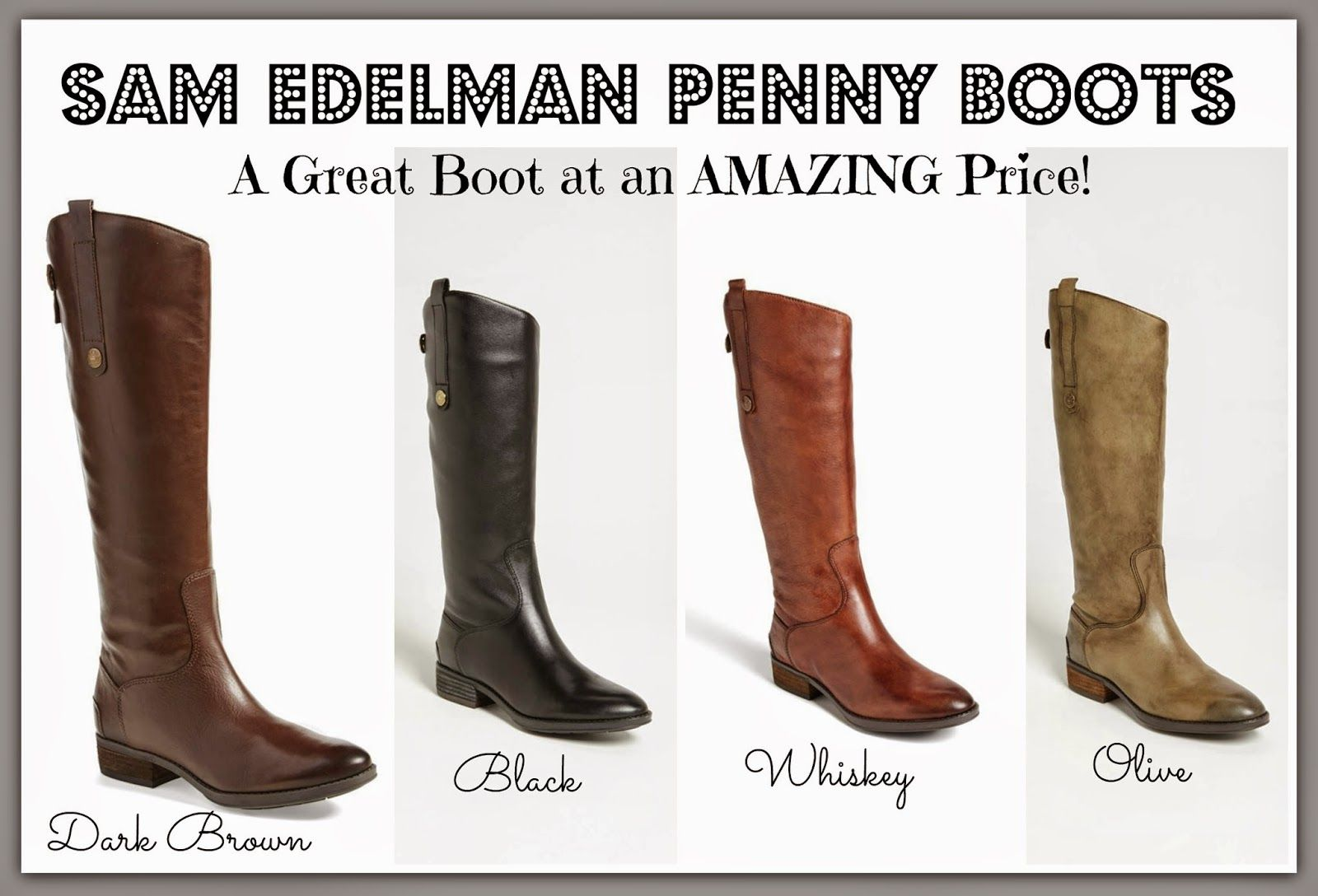 936d6fb913b9 These Sam Edelman Penny Boots are ON SALE and have AMAZING reviews ...