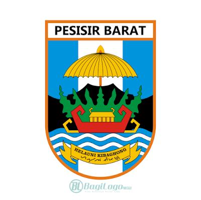 Kabupaten Pesisir Barat Logo Vector Vector Logo Logos Custom Logos