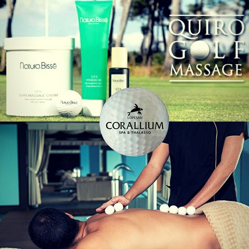 Looking for new sensations? Our Quirogolf massage will surprise you...