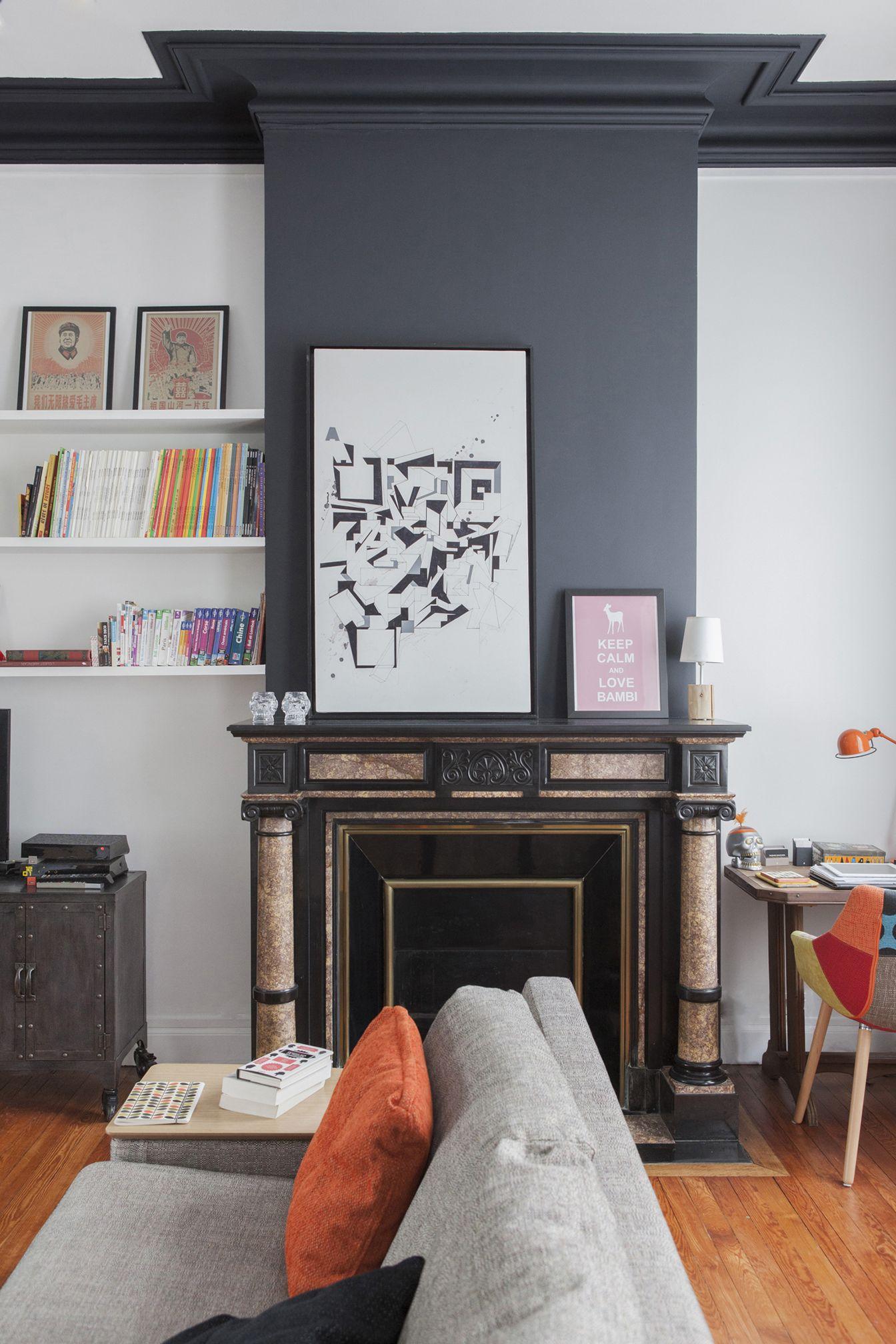 fusion d r novation d coration maison bourgeoise 210 m2 chemin es pinterest maison. Black Bedroom Furniture Sets. Home Design Ideas
