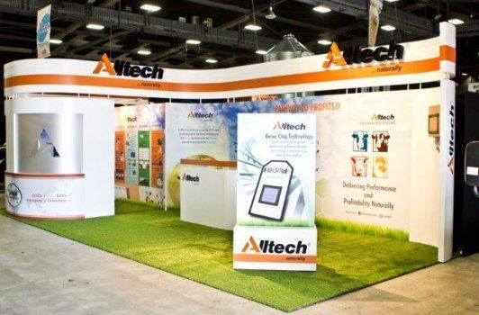 Exhibition Stands Nz : Altech stand at mystery creek fieldays by peek exhibition peek