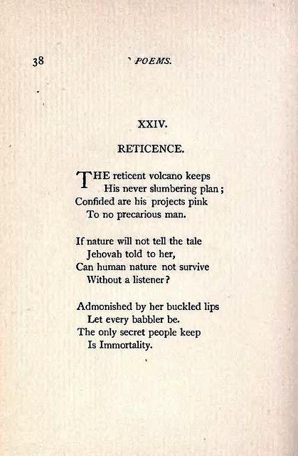 Emilyinson Poems Third Series Xxiv  Flickr P O Sharing