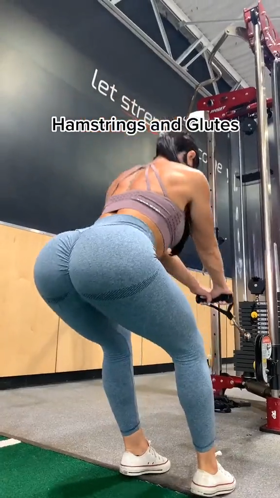 Hamstrings and Glutes!