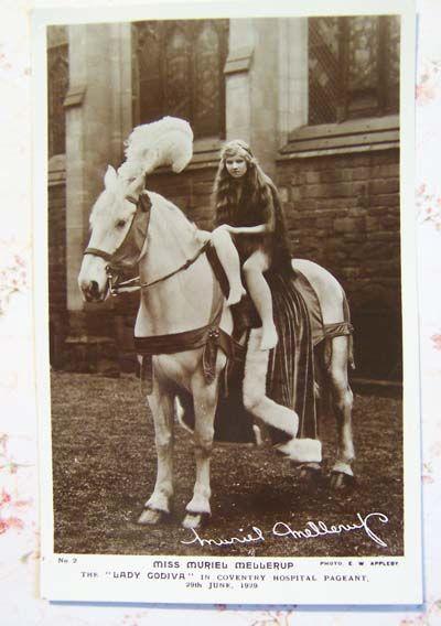 Another vintage Lady Godiva