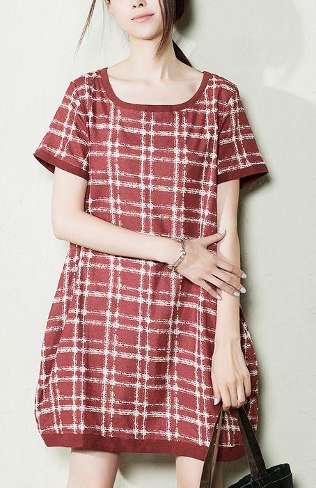 8207ce397ad07 Pink plus size summer dress short linen sundress maternity dresses ...