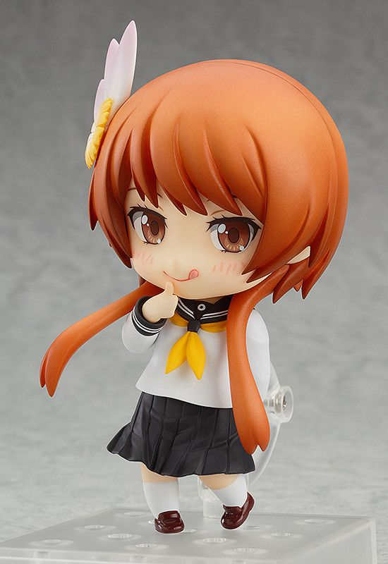 """Unforgettable memory number one.""    ""From the romantic comedy anime series 'Nisekoi' comes a Nendoroid of one of the story's heroines, Marika Tachibana! She comes with two different smiling expressions, an embarrassed expression and a winking expression! The important 'Promise Key' from the series is also included, and you can enjoy all sorts of your favorite scenes from the series in Nendoro..."
