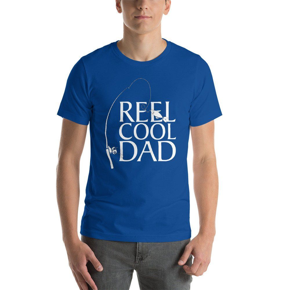 a030fec2 Mens Reel Cool Dad T-Shirt Fishing Daddy Father's Day Gift by Cre8tivez on  Etsy