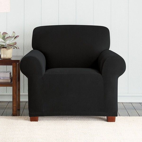 Delicieux Sure Fit Stretch Pixel Corduroy Chair Slipcover ($66) ❤ Liked On Polyvore  Featuring Home