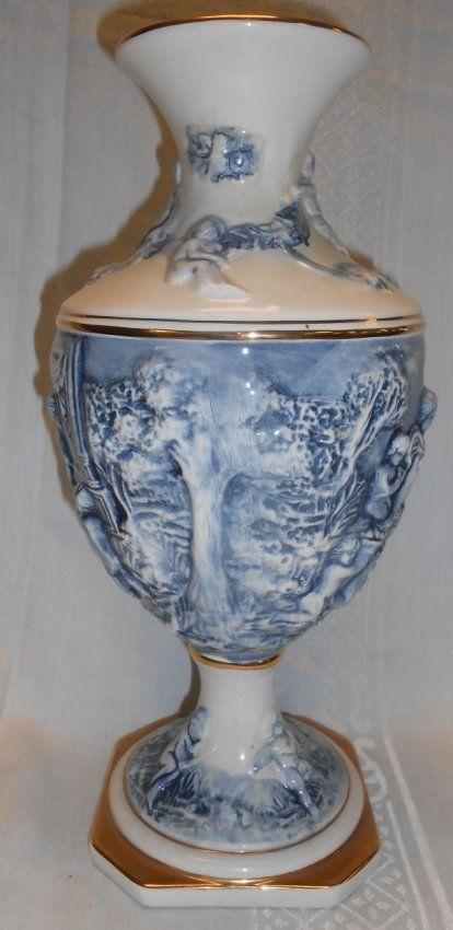 Tall Capodimonte Vase On Everything Capodimonte Pinterest Pottery