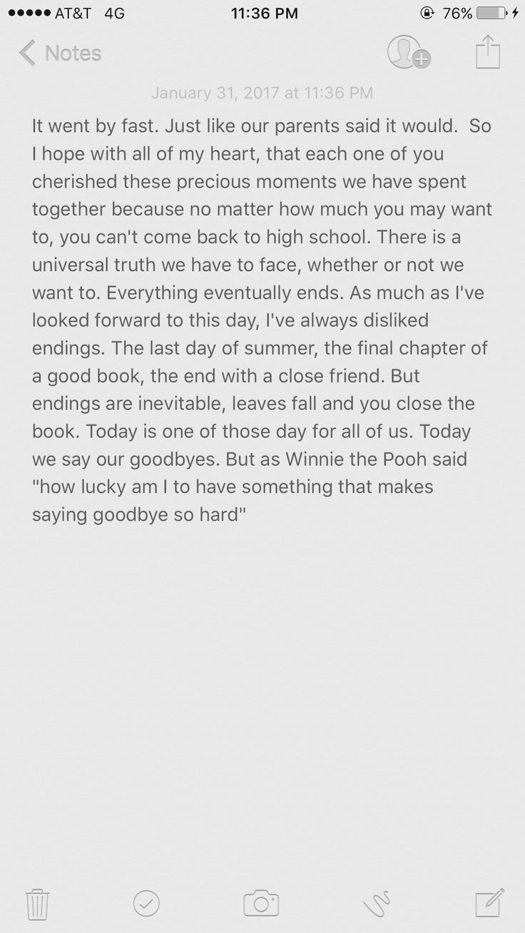Farewell High School Speech  Goodbye  Welcome
