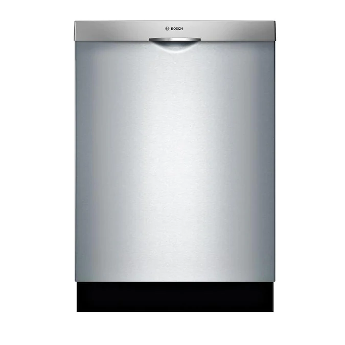 Bosch 300 48 Decibel Top Control 24 In Built In Dishwasher Stainless Steel Energy Star Lowes Com Built In Dishwasher Dishwasher Stemware Holder