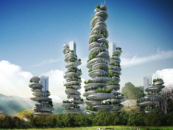 modern architecture skyscrapers. Skyscrapers · Asian Cairns Project Proposes A New Look For China\u0027s Urban Environments Modern Architecture S