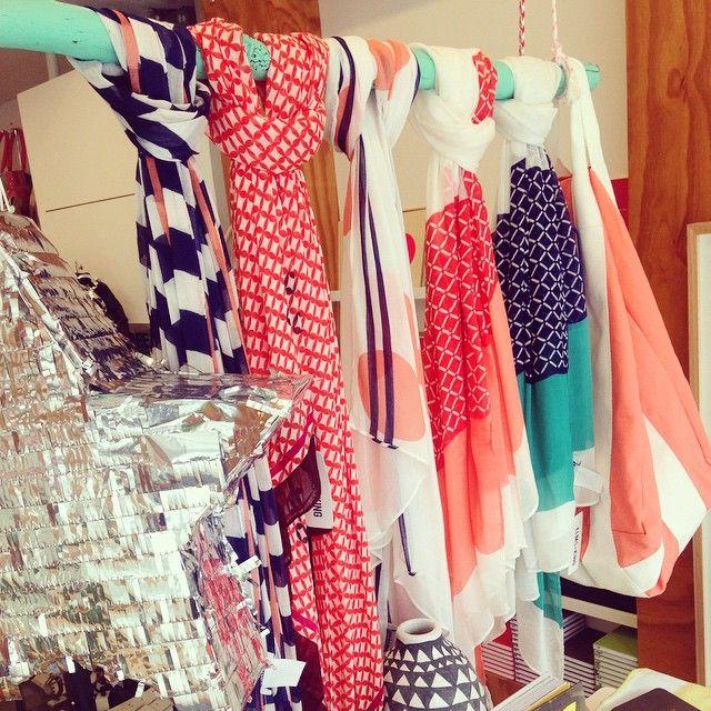 #arlingtonmilne #elmsandking #scarves #summercolour