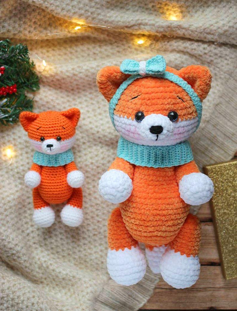 Amigurumi little fox free pattern little fox crochet