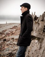 The perfect peacoat.