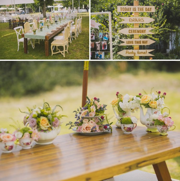 Ruth Steven An English Afternoon Tea Garden Party Daytime Jewish Wedding In Israel Smashing The Gl Blog