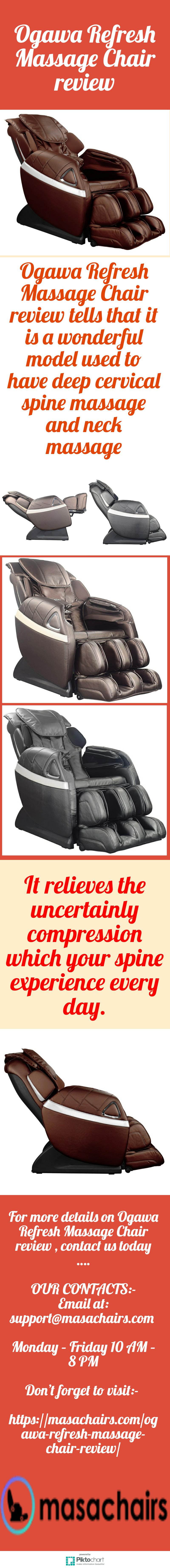 Ogawa Refresh Massage Chair Review Priceless Ogawa Refresh review