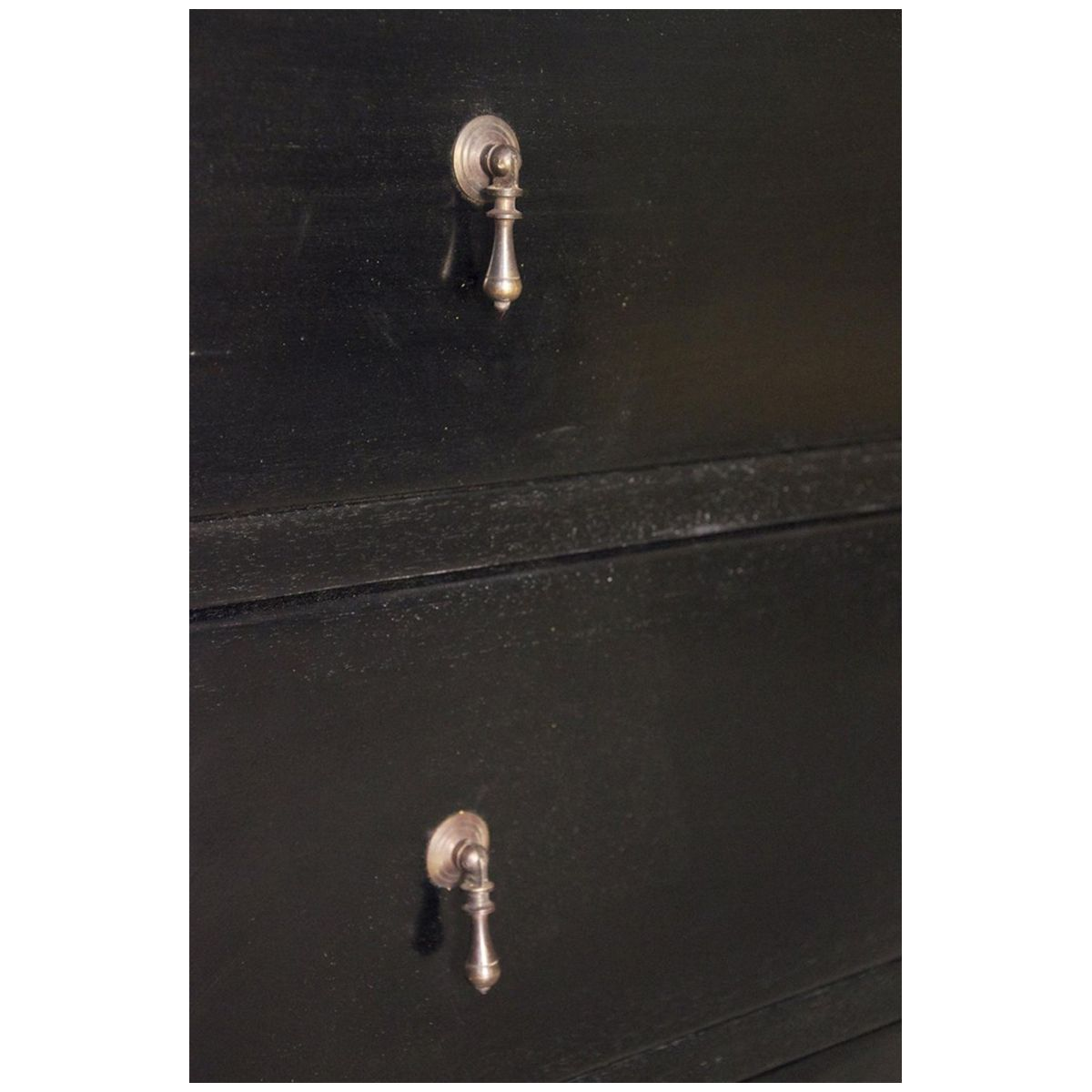 Noir Colonial 6 Drawer, Hand Rubbed Black GDRE103HB | Noir | Pinterest