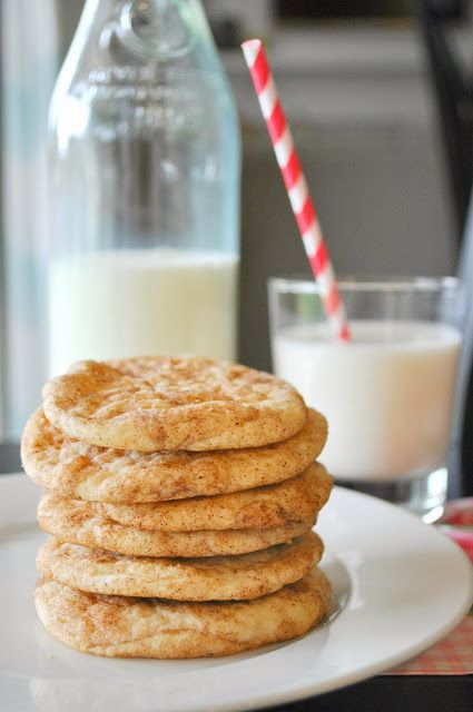 Soft Snickerdoodle Cookies - Suburbs Mama