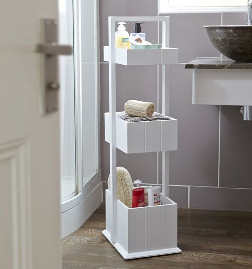 Shaker Style Bathroom Storage Caddy --Homex | Household Item From ...