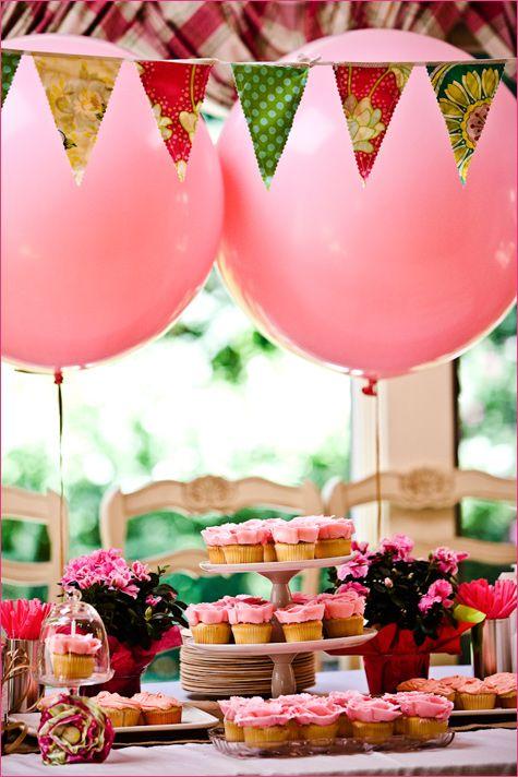 Pink Birthday + DIY Bubbles