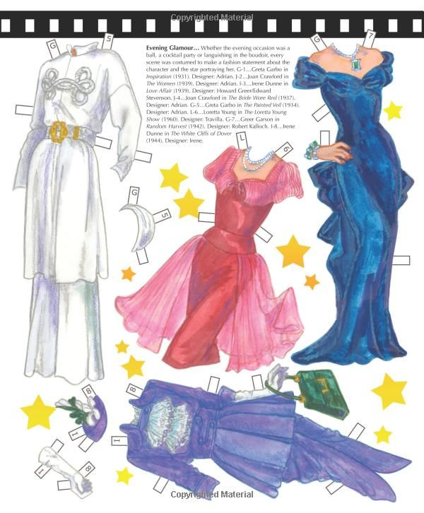 Classic Drama Queens David Wolfe S History Of Hollywood Fashions Commentary Costumes And Paper Dolls David Paper Dolls Vintage Paper Dolls Paper Dolls Book