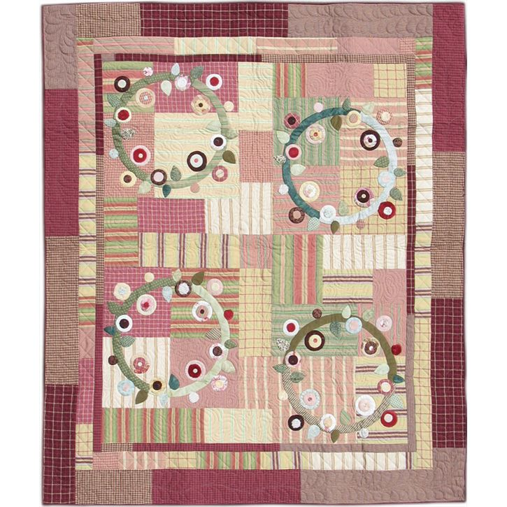 Round And Round Quilt Pattern My Quilts Pinterest Patterns