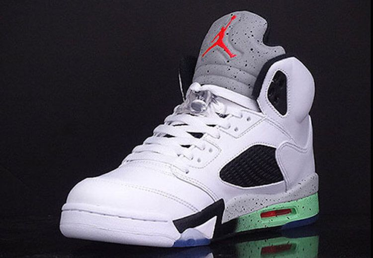 Nike Air Jordan 5 Retro Poison Green | The Sole Supplier