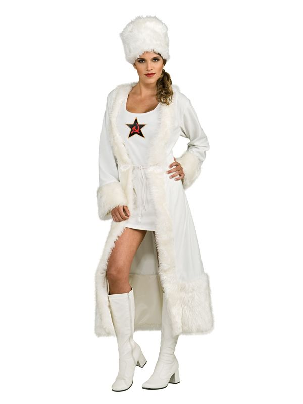Russian Henchwoman Fancy Dress 007 James Bond Costume Ideas