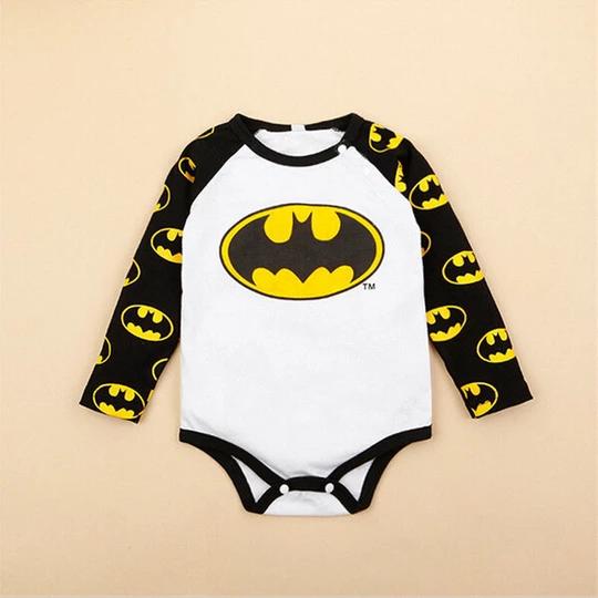 Kids Boys Girls Superman Batman Playsuit  One Piece  Jumpsuit bodysuit age 7-12