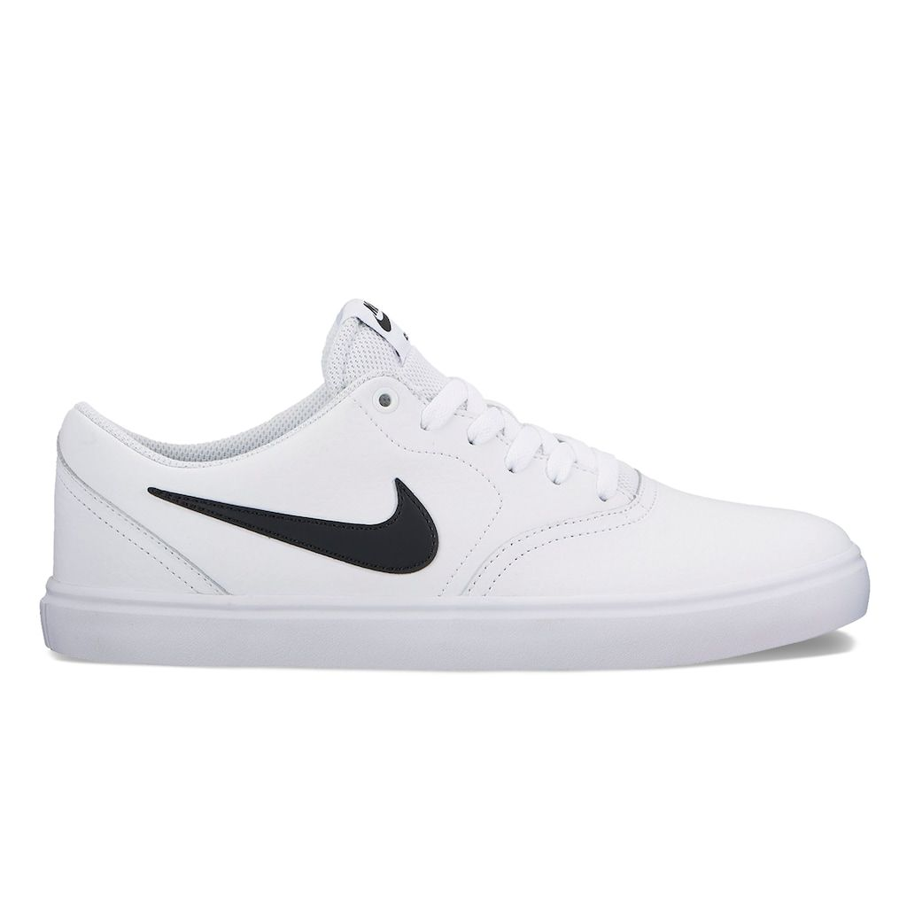 ... Black White Size 5 best 0eccb 61e55  Nike SB Check Solarsoft Mens Skate  Shoes 87ffe27631372