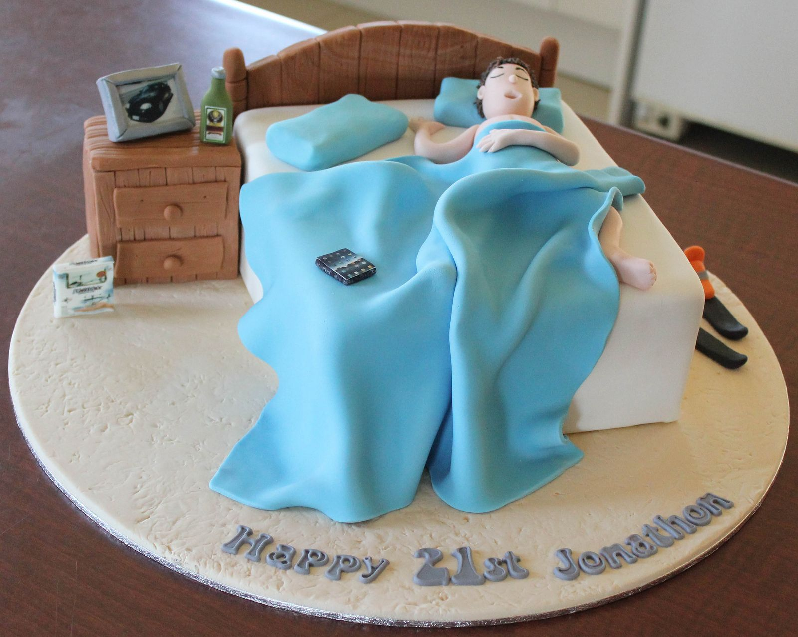 Teenage Bed Cake In