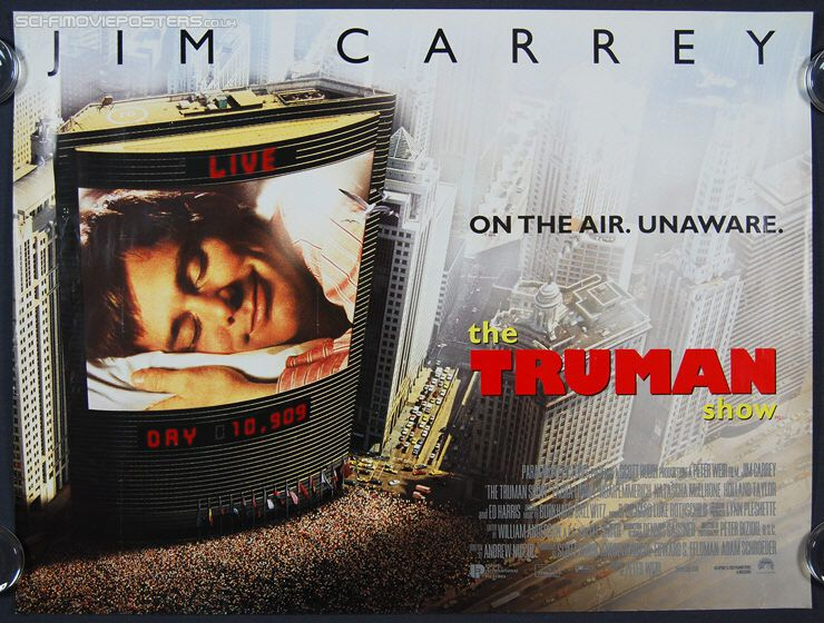 Great Related Text The Truman Show A 1998 American Satirical Social Science Fiction Comedy Drama Film Directed By Peter Movie Teaser Essay Questions Question Hsc