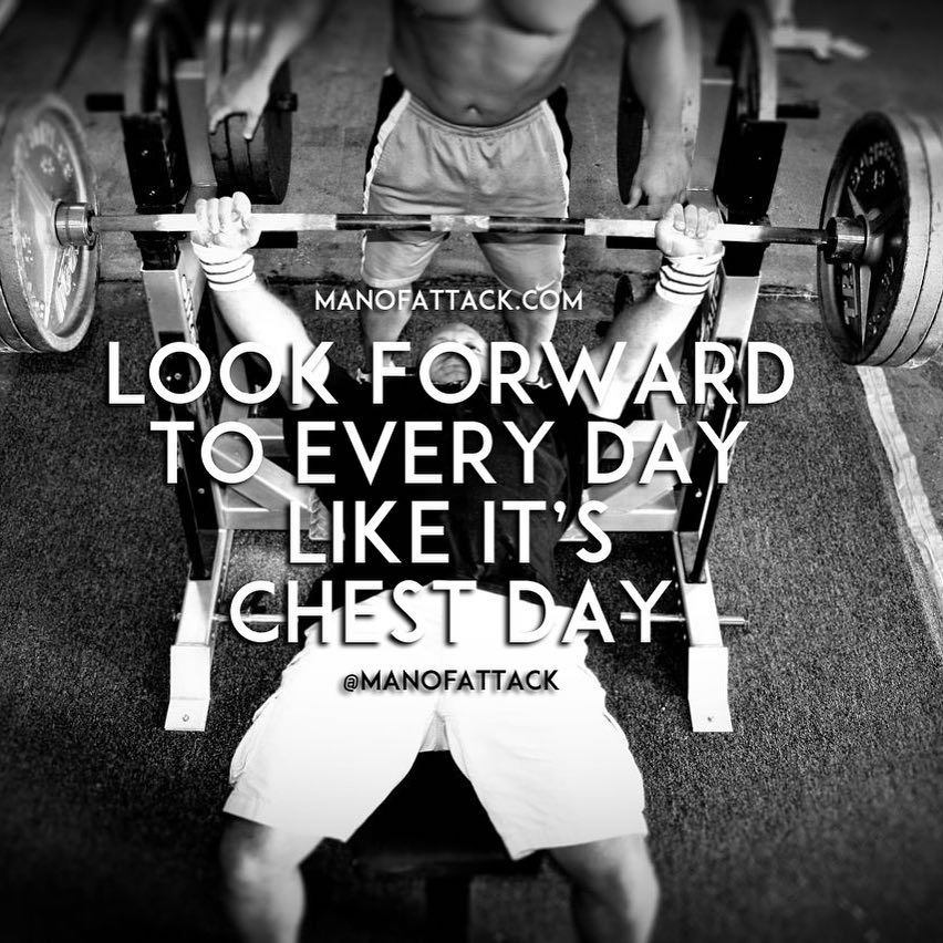 """You know that excitement you feel when it's chest day -- or whichever day you like best at the gym -- and you just can't wait to get in and get to work. Alright, now, take that feeling and transfer it to EVERYTHING you do. Even the shit you HATE DOING. Meet every challenge like """"I can't wait to KILL IT TODAY."""" Turn everything into your favorite activity."""